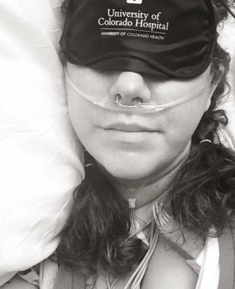 Beauty Sleep, hospital style.